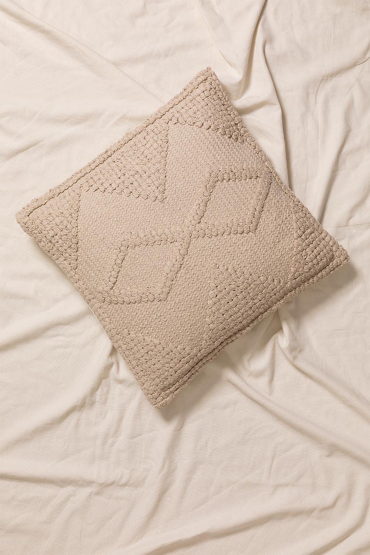 Pavad Square Cotton Cushion (50x50cm), gallery image 1