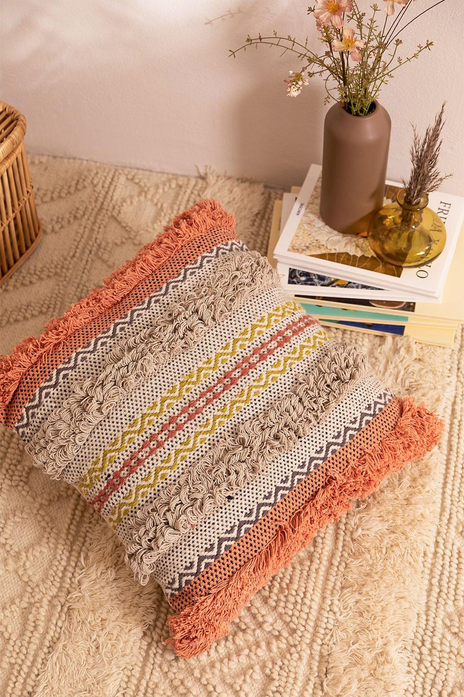 Vuer Square Cotton Cushion (50x50cm) , gallery image 1