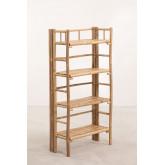 Bamboo  4 Shelves Unit Iciar, thumbnail image 2