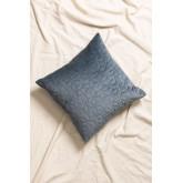 Square Velvet Cushion (40x40 cm) Sine, thumbnail image 1