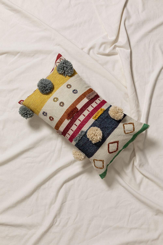 Rectangular Cotton Cushion (30x50 cm) Trilet , gallery image 1
