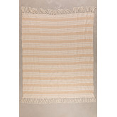 Plaid Cotton Blanket Yega, thumbnail image 1