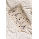 Rectangular Cotton Cushion (30x50 cm) Indi Kids, thumbnail image 2