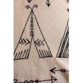 Rectangular Cotton Cushion (30x50 cm) Indi Kids, thumbnail image 5