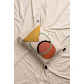 Cushion with Cotton Embroidery (30x45 cm) Dinski, thumbnail image 1