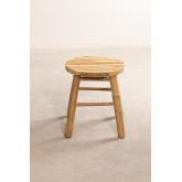 Low Stool in Bamboo Dilio, thumbnail image 3
