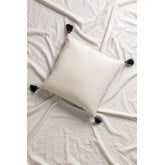 Cushion with Cotton Embroidery (45x45 cm) Mau, thumbnail image 2