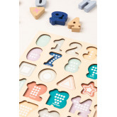 Puzzle with Wooden Numbers Nemi Kids, thumbnail image 3