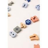 Puzzle with Wooden Numbers Nemi Kids, thumbnail image 4