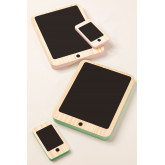 Gamis Kids Wooden Tablet and Mobile Set, thumbnail image 3