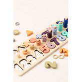 Puzzle with Wooden Numbers Sesil Kids, thumbnail image 3