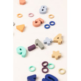 Puzzle with Wooden Numbers Sesil Kids, thumbnail image 4