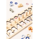 Puzzle with Wooden Numbers Sesil Kids, thumbnail image 5