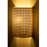 Wall Sconce in Rattan Sety, thumbnail image 2