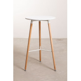 Round High Table in MDF and Metal (Ø60 cm) Royal Design, thumbnail image 3