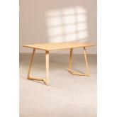 Rectangular Dining Table in Ash Wood (160x80 cm) Keira, thumbnail image 2