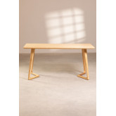 Rectangular Dining Table in Ash Wood (160x80 cm) Keira, thumbnail image 3
