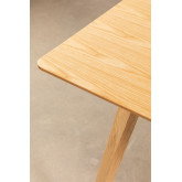 Rectangular Dining Table in Ash Wood (160x80 cm) Keira, thumbnail image 5