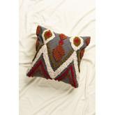 Ibaz Square Cotton Cushion (50x50 cm), thumbnail image 1