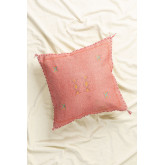 Pyki Square Cotton Cushion (50x50cm), thumbnail image 1