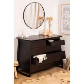 Somy Teak Wood Dresser, thumbnail image 2