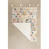Plaid Blanket in Tario Cotton, thumbnail image 872726