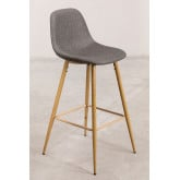 Pack 4 High Stools in Linen Glamm, thumbnail image 1