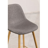 Pack 4 High Stools in Linen Glamm, thumbnail image 3
