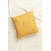 Square Cotton Cushion (50x50 cm) Goki , thumbnail image 1