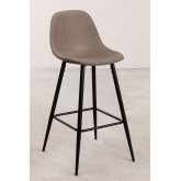 Pack 2 High Stools in Linen Glamm, thumbnail image 1