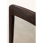 Teak Wood Wall Mirror (90x60 cm) Somy, thumbnail image 2