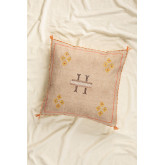 Bron Square Cotton Cushion (50x50cm), thumbnail image 1