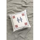 Royn Square Cotton Cushion (50x50 cm) , thumbnail image 1