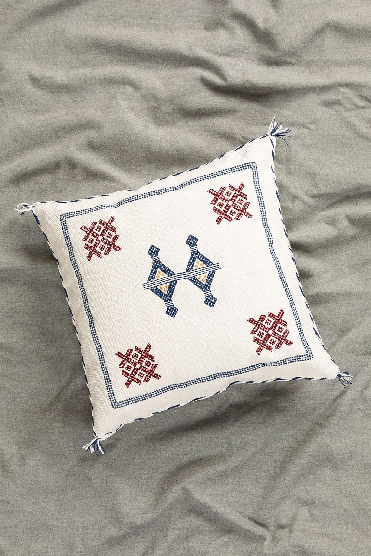 Royn Square Cotton Cushion (50x50 cm) , gallery image 1