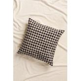 Urub Square Cotton Cushion (50x50cm) , thumbnail image 1
