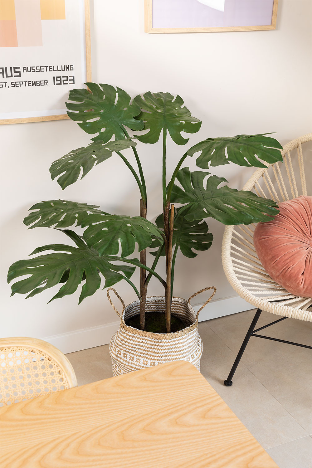 Monstera Artificial Plant, gallery image 1