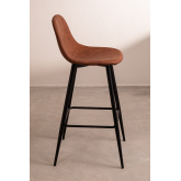 Pack 2 High Stools in Leatherette Glamm, thumbnail image 2