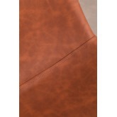 Pack 2 High Stools in Leatherette Glamm, thumbnail image 4
