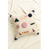 Square Cotton Cushion (50x50 cm) Azanel, thumbnail image 876368