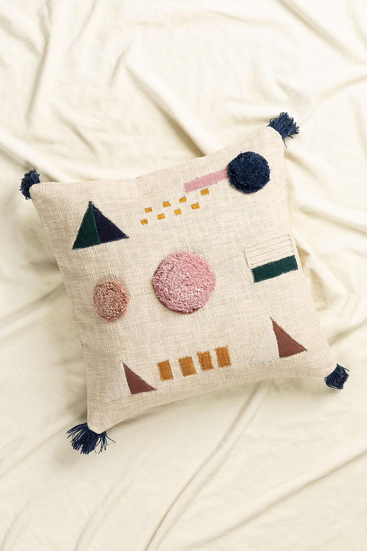 Square Cotton Cushion (50x50 cm) Azanel, gallery image 876368