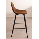 Pack 4 High Stools in Leatherette Glamm, thumbnail image 2