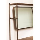 Combined Hallway Shelf- Coat Rack & Mirror  Nosq , thumbnail image 3