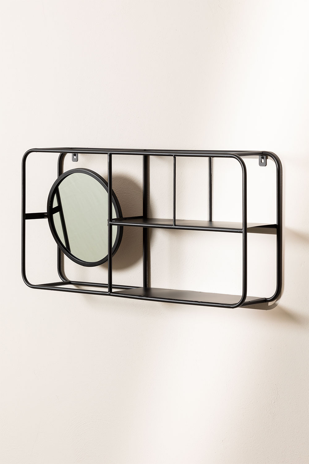 Metal Shelf with Mirror Niver, gallery image 1