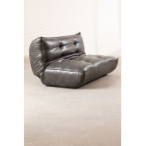 2 Seater Sofa Bed in Mati Leatherette, thumbnail image 6