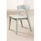 Stackable Wooden  Chair  Ginger, thumbnail image 2