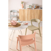 Stackable Wooden  Chair  Ginger, thumbnail image 1