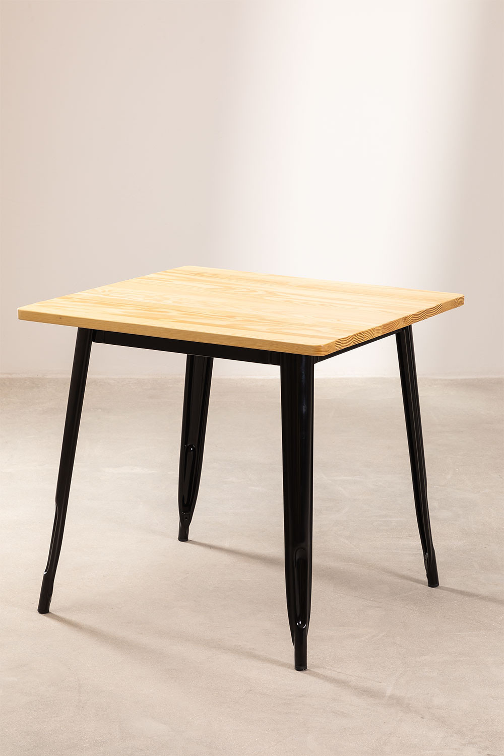 Wooden LIX Table (80x80), gallery image 1
