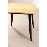 Wooden LIX Table (80x80), thumbnail image 2