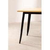 Wooden LIX Table (80x80), thumbnail image 3