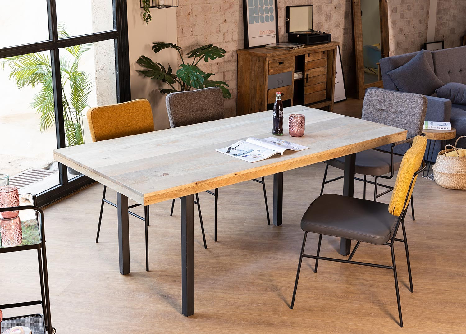 Rectangular Dining Table (180 X 90 cm) Dhula, gallery image 887943